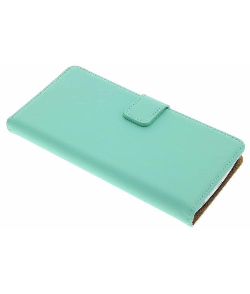 Selencia Luxe Book Case LG G3 - Mintgroen