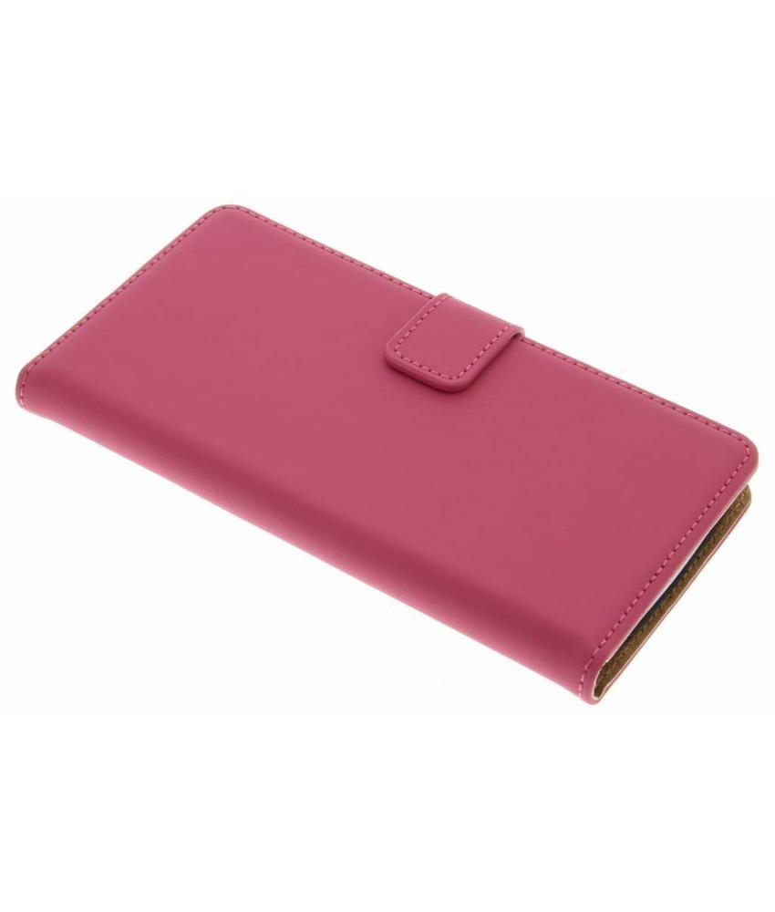 Selencia Luxe Book Case LG G3 - Fuchsia