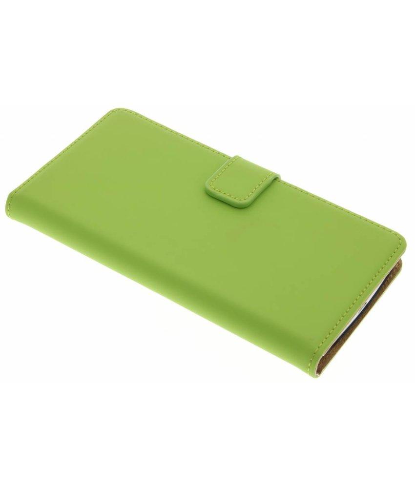 Selencia Luxe Book Case LG G3 - Groen