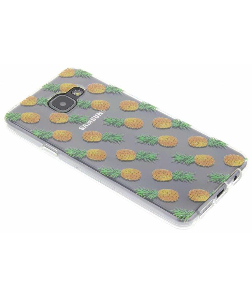 Transparant fruit design TPU hoesje Samsung Galaxy A3 (2016)