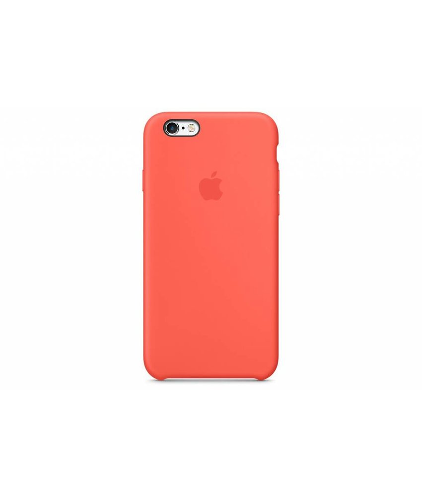 Apple Silicone Case iPhone 6(s) Plus - Oranje