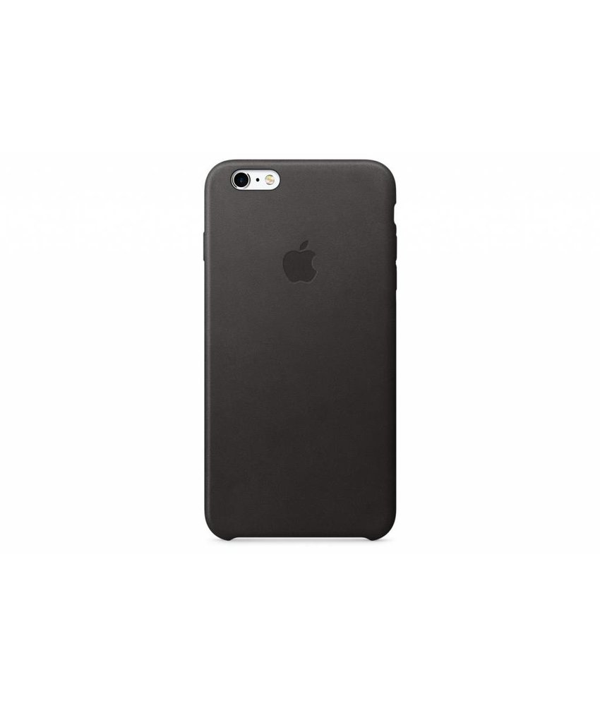 Apple Leather Case iPhone 6(s) Plus - Black