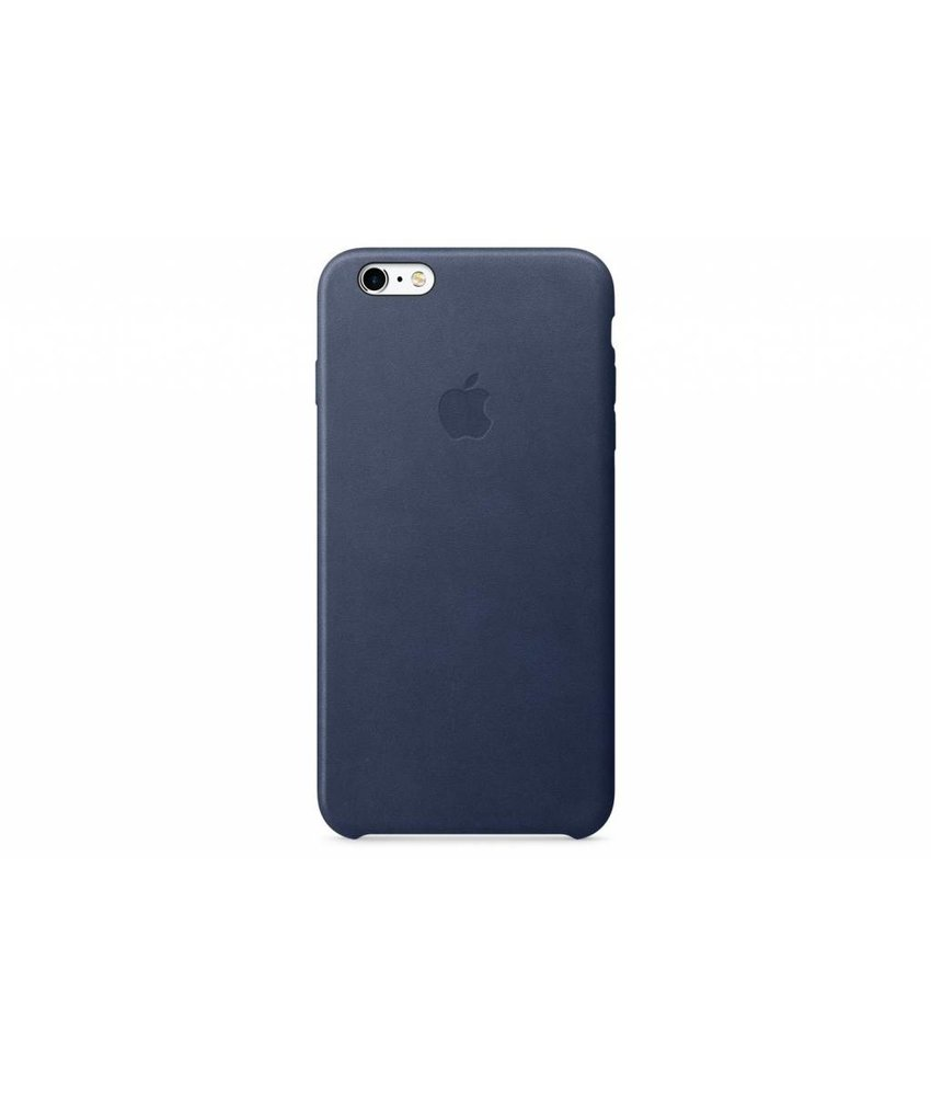 Apple Leather Case iPhone 6(s) Plus - Midnight Blue