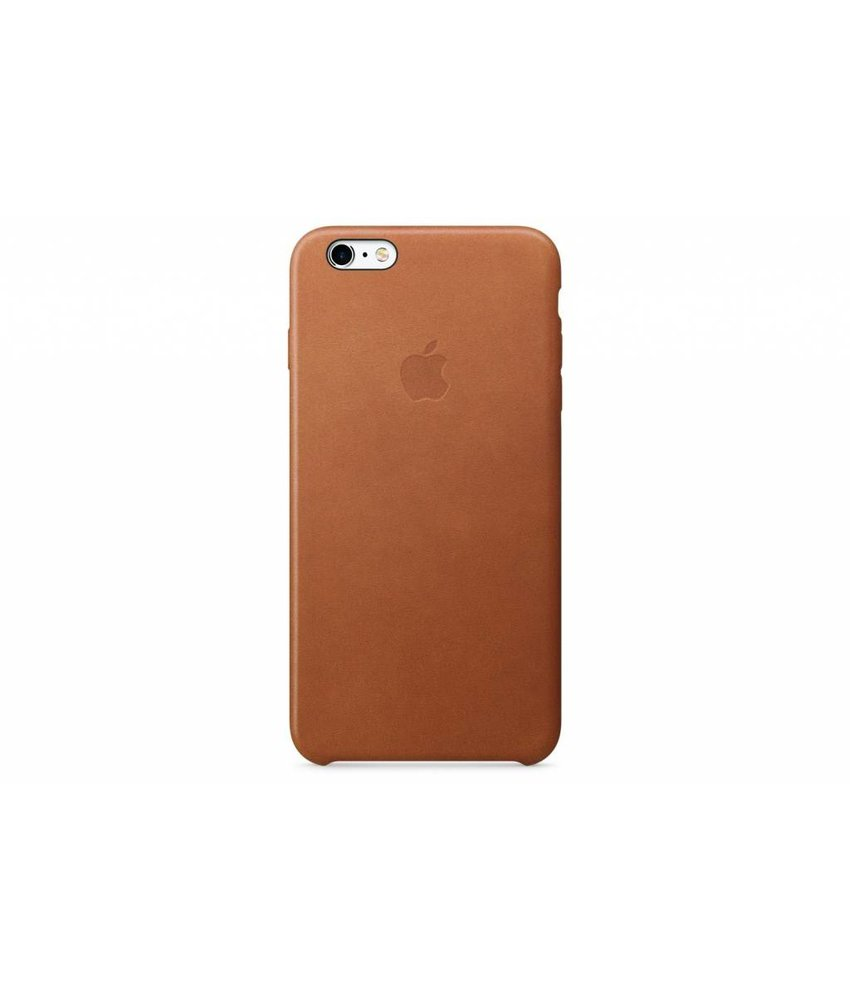 Apple Leather Case iPhone 6(s) Plus - Brown