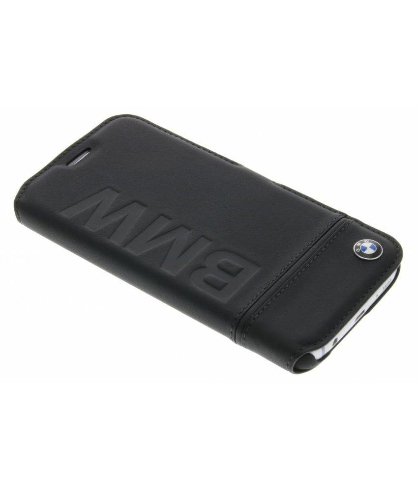 BMW Booktype case Debossed logo Samsung Galaxy S7 - Zwart