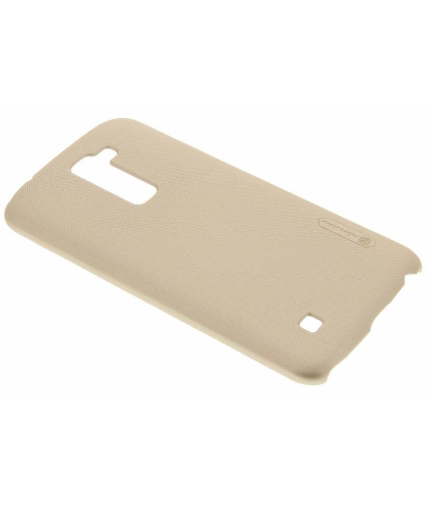 Nillkin Frosted Shield hardcase hoesje LG K10 - Goud