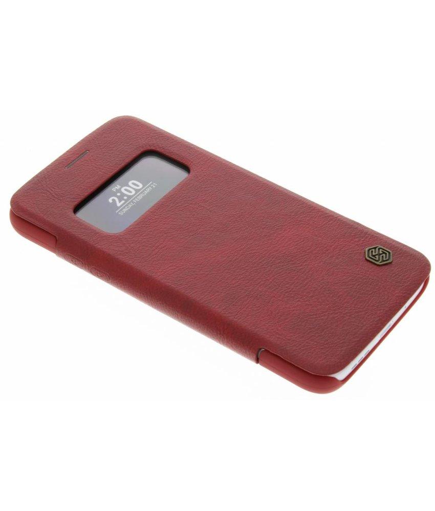 Nillkin Leather Case met venster LG G5 (SE)