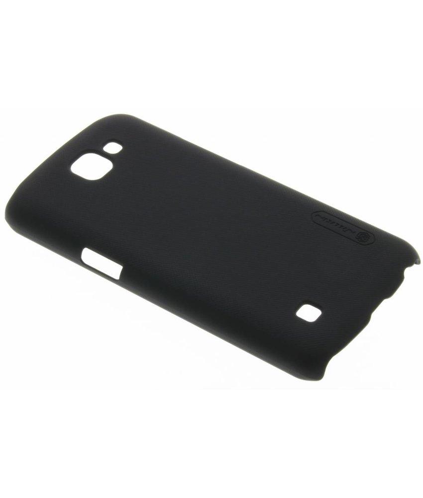 Nillkin Frosted Shield hardcase hoesje LG K4 - Zwart
