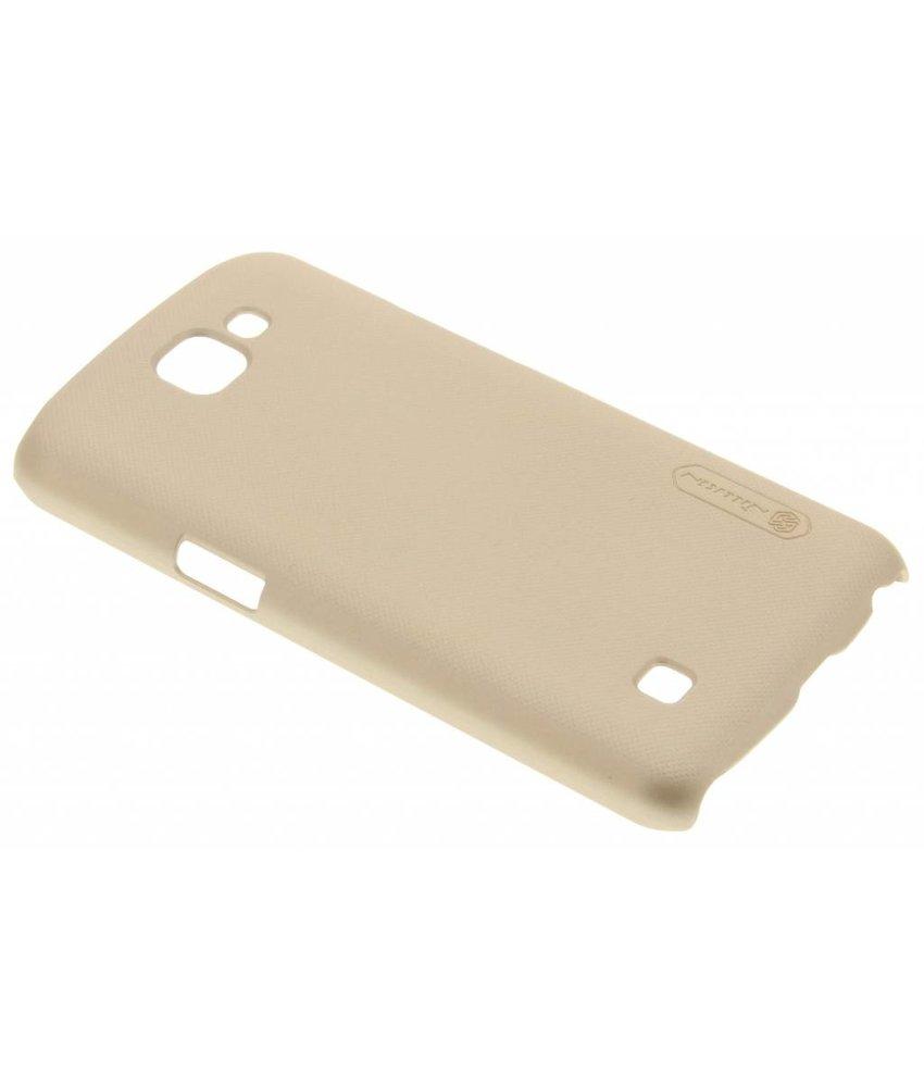 Nillkin Frosted Shield hardcase hoesje LG K4 - Goud