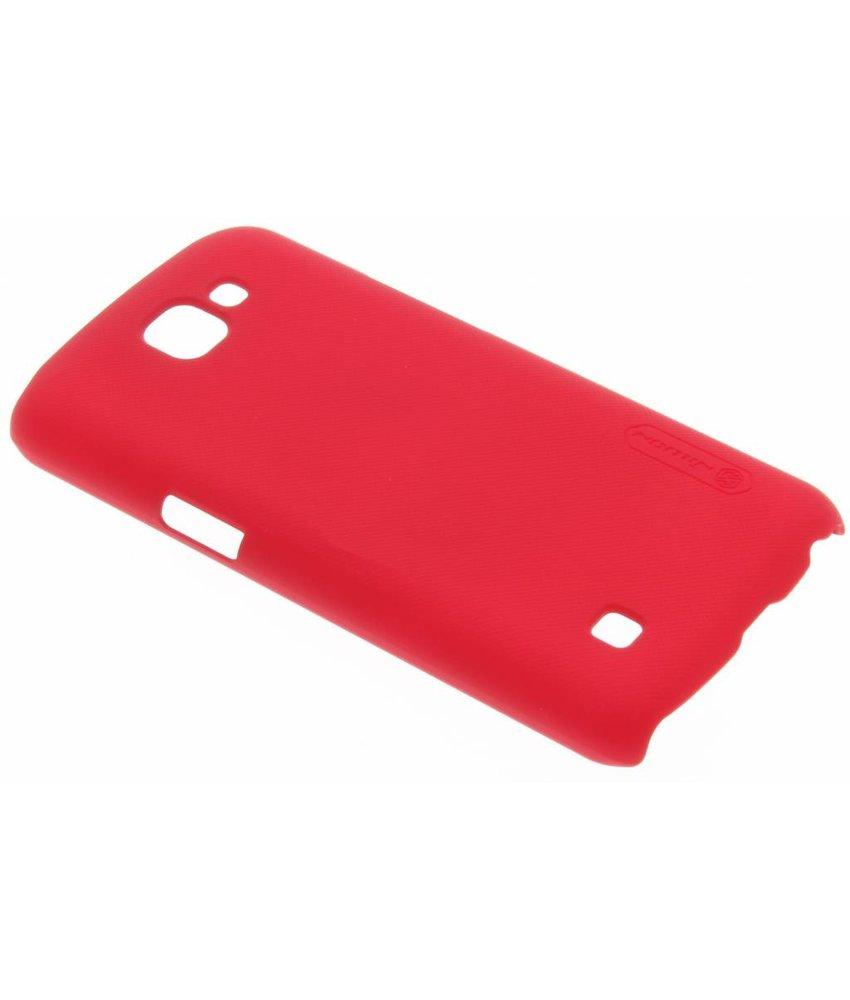 Nillkin Frosted Shield hardcase hoesje LG K4 - Rood