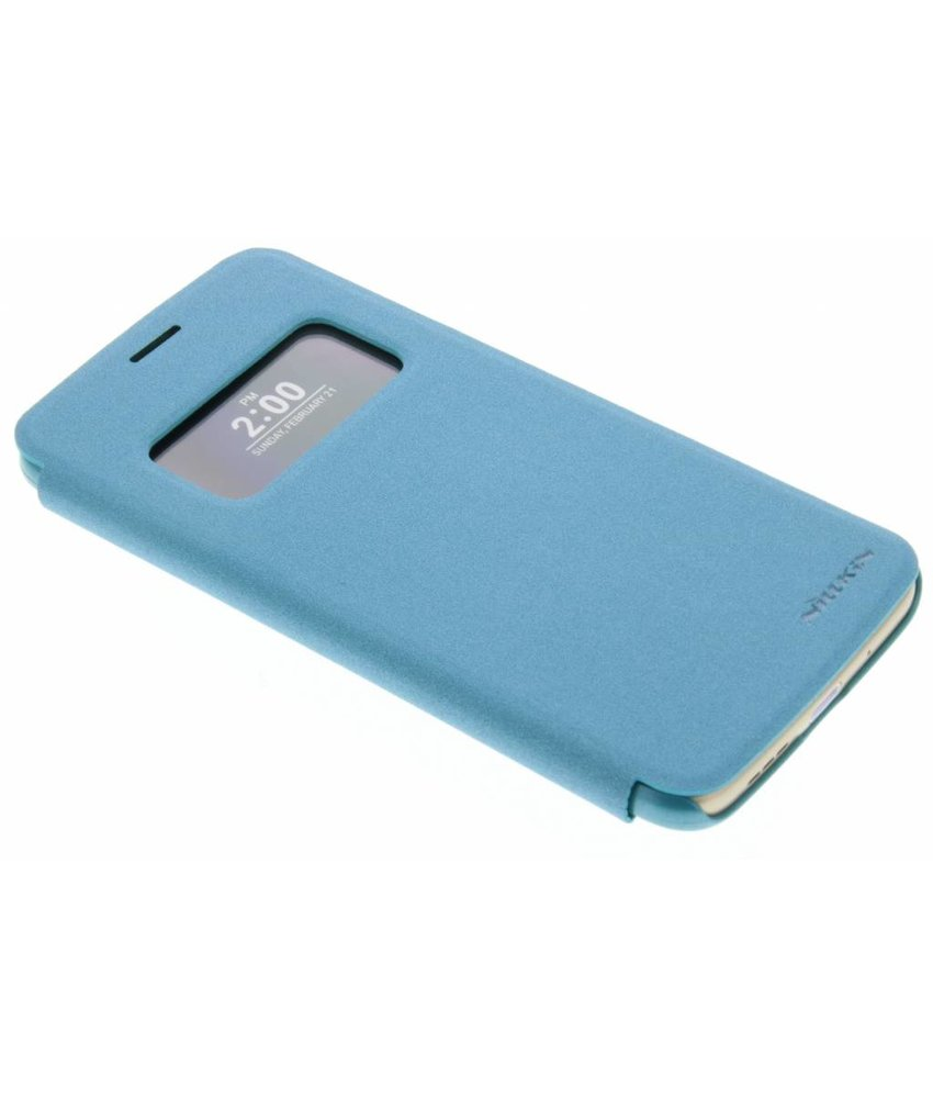 Nillkin Sparkle slim booktype hoes LG G5 (SE) - Turquoise