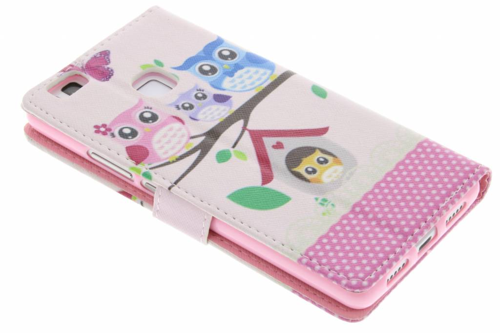 Hiboux Conception Booktype Case Tpu Pour Huawei P9 Lite wUm6wlf