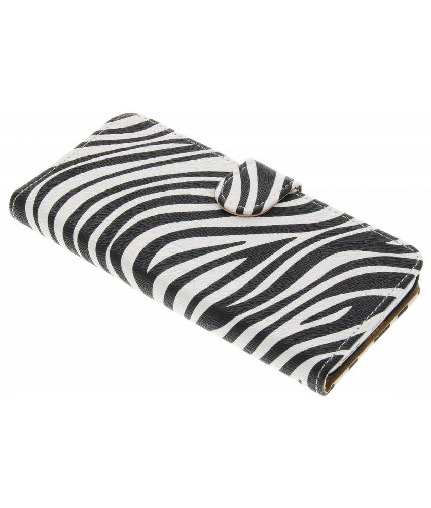 Zebra booktype hoes LG G5 (SE)