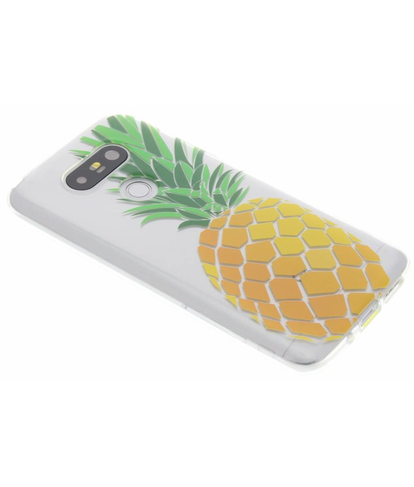 Transparant fruit design TPU hoesje LG G5 (SE)
