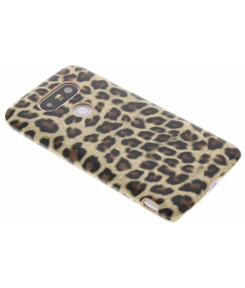 Bruin luipaard design hardcase hoesje LG G5 (SE)