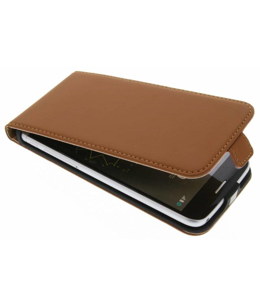 Selencia Luxe Flipcase LG G5 (SE) - Bruin