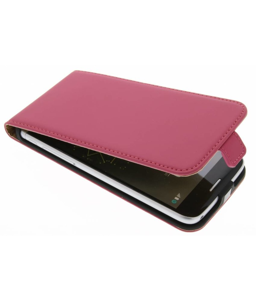 Selencia Luxe Flipcase LG G5 (SE) - Fuchsia