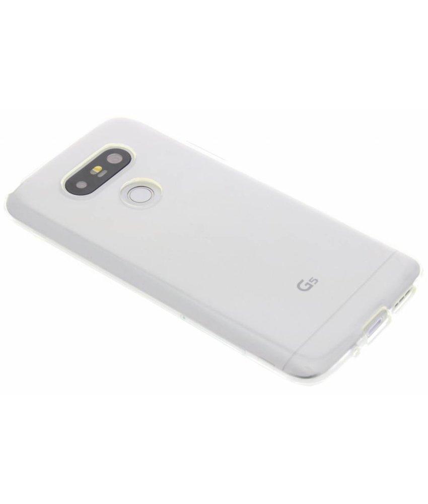 Transparant gel case LG G5 (SE)