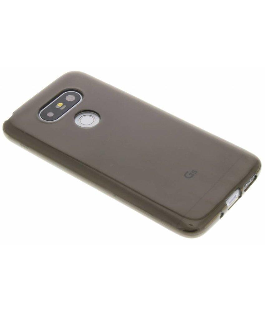 Grijs transparant gel case LG G5 (SE)