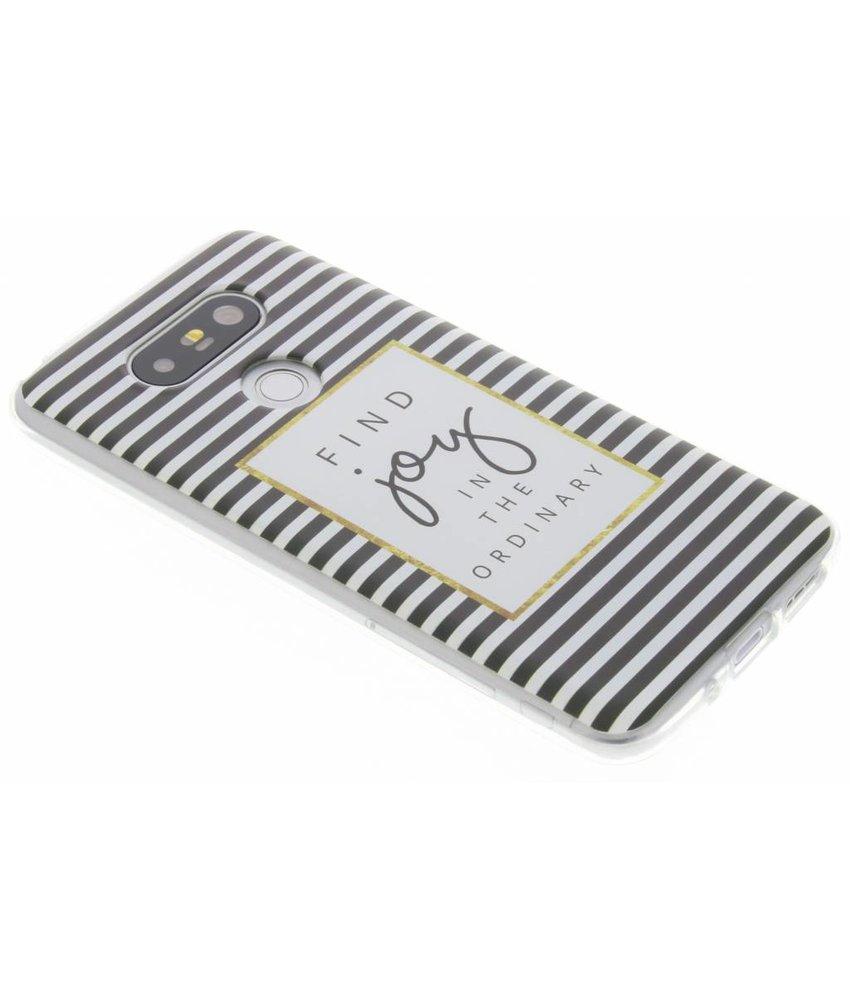 Design TPU siliconen hoesje LG G5 (SE)