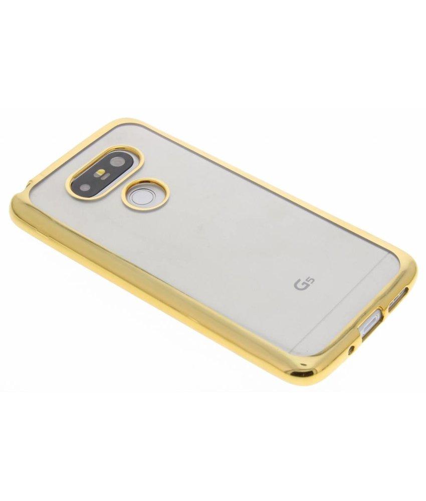 Goud TPU hoesje met metallic rand LG G5 (SE)