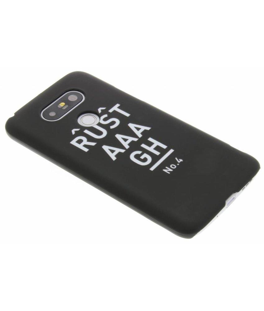 Rustaaagh No 4 hardcase hoesje LG G5 (SE)