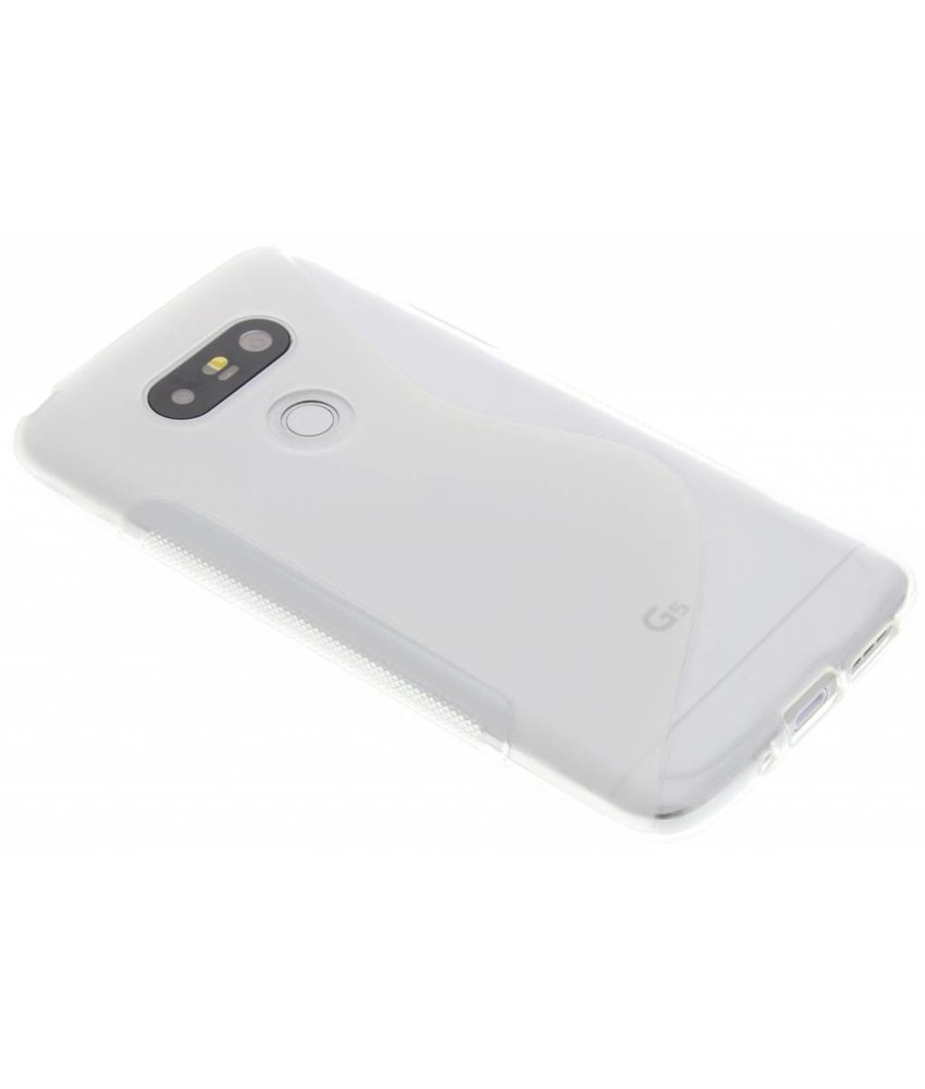 Transparant S-line TPU hoesje LG G5 (SE)