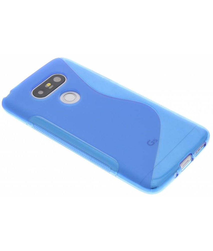 Blauw S-line TPU hoesje LG G5 (SE)