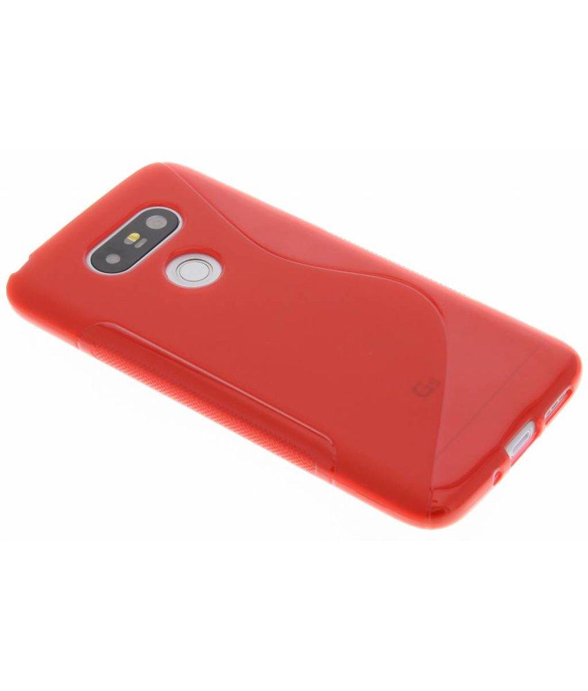 Rood S-line TPU hoesje LG G5 (SE)