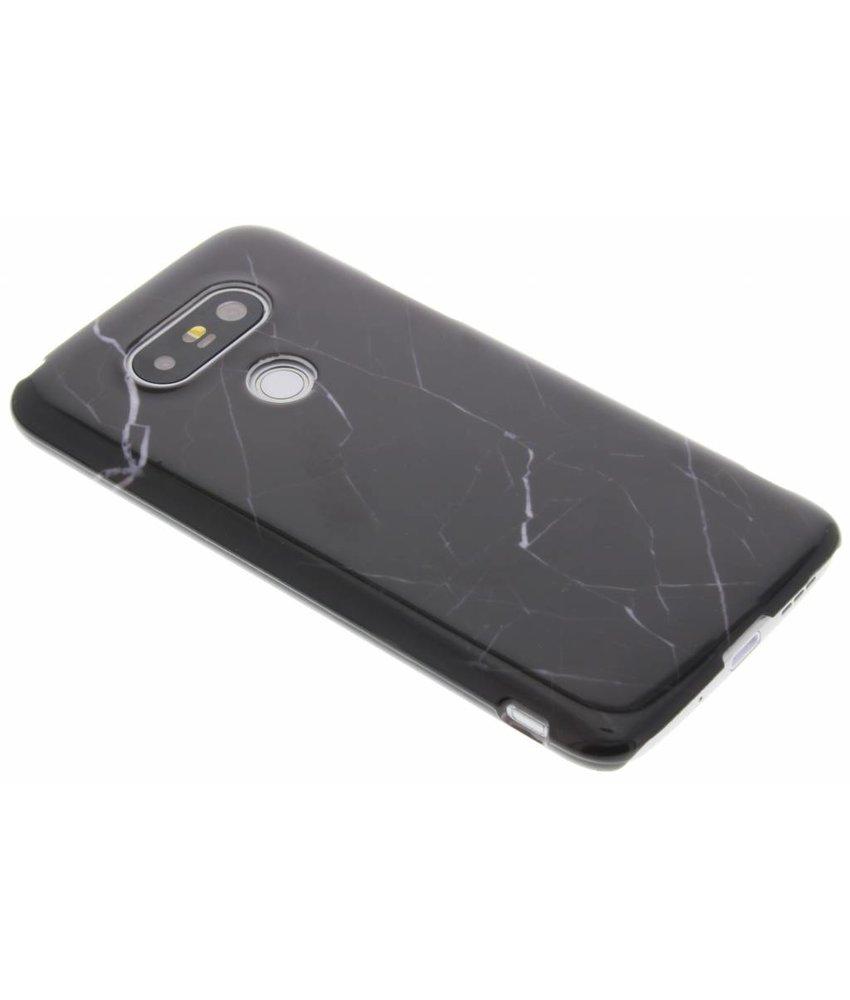 Zwart marmer hardcase hoesje LG G5 (SE)