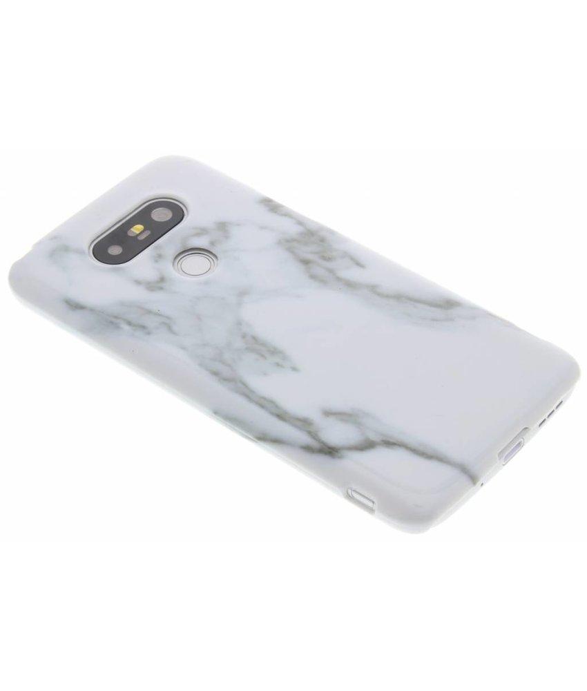 Wit marmer hardcase hoesje LG G5 (SE)