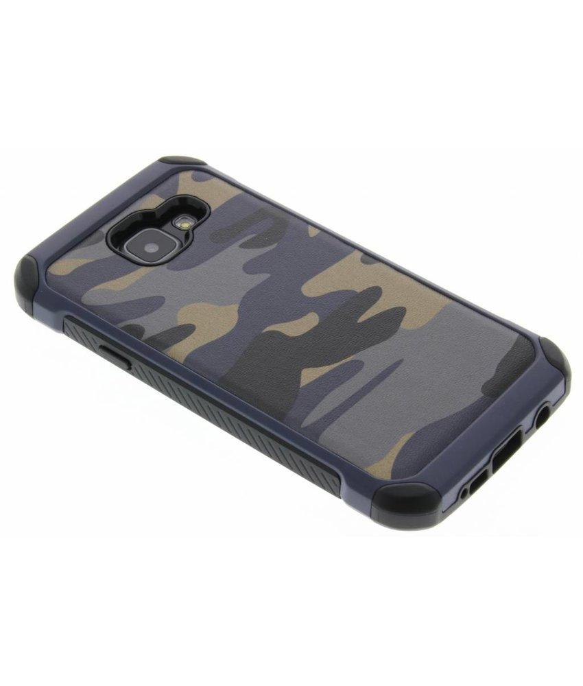 Blauw army defender hardcase hoesje Samsung Galaxy A3 (2016)