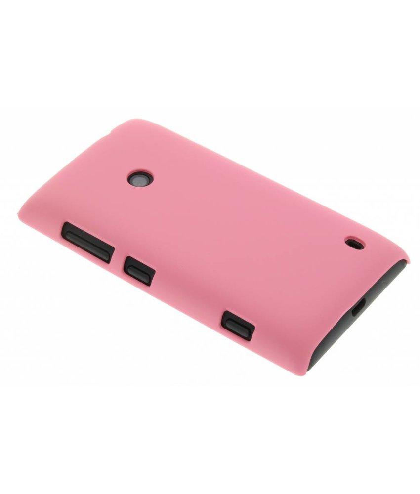 Roze effen hardcase Nokia Lumia 520 / 525