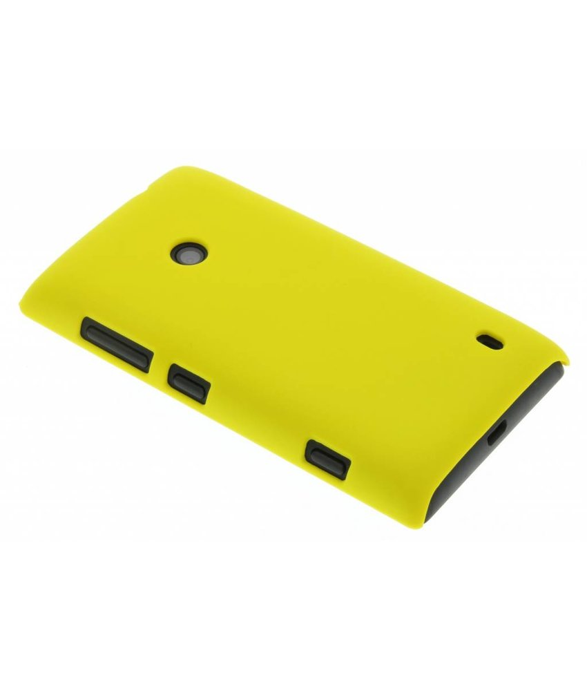 Geel effen hardcase Nokia Lumia 520 / 525