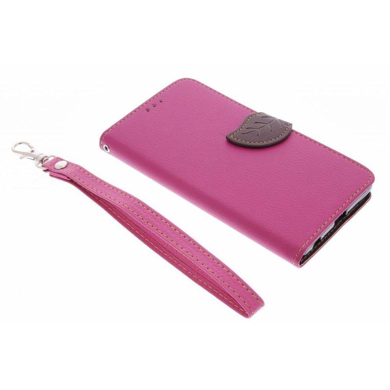 Conception Feuille Rouge Cas Booktype Tpu Pour Sony Xperia Z5 Premium ZgbMSagfl