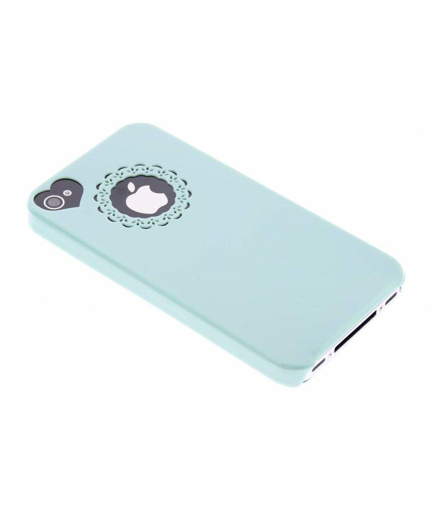 Romantisch effen hardcase hoesje iPhone 4 / 4s