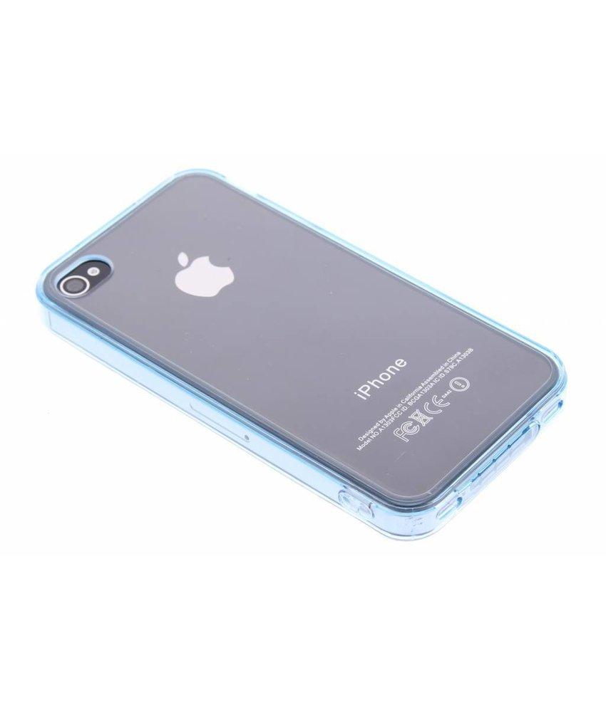Transparant TPU hardcase hoesje iPhone 4 / 4s