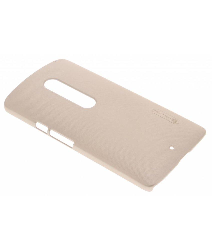 Nillkin Frosted Shield hardcase hoesje Motorola Moto X Play - Goud