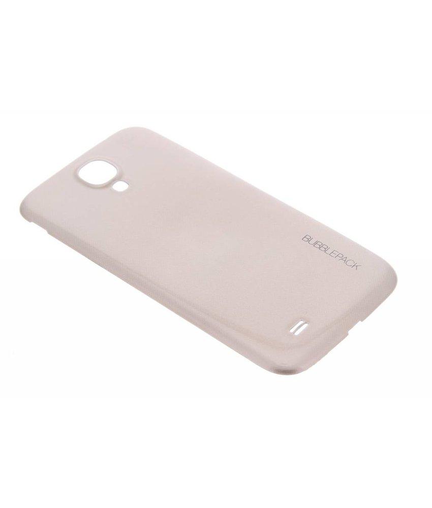 Goud bubblepack batterij cover Samsung Galaxy S4