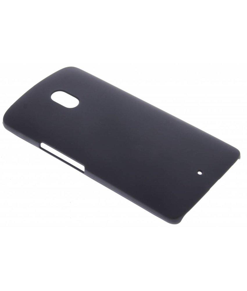 Zwart effen hardcase hoesje Motorola X Play