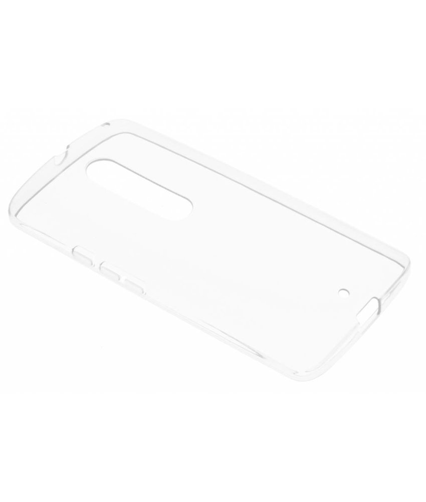 Transparante gel case Motorola Moto X Play