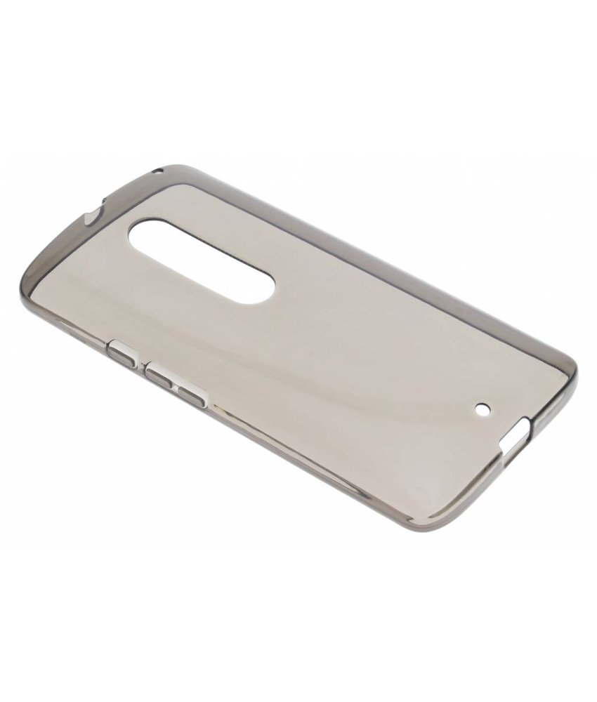 Grijs transparante gel case Motorola Moto X Play