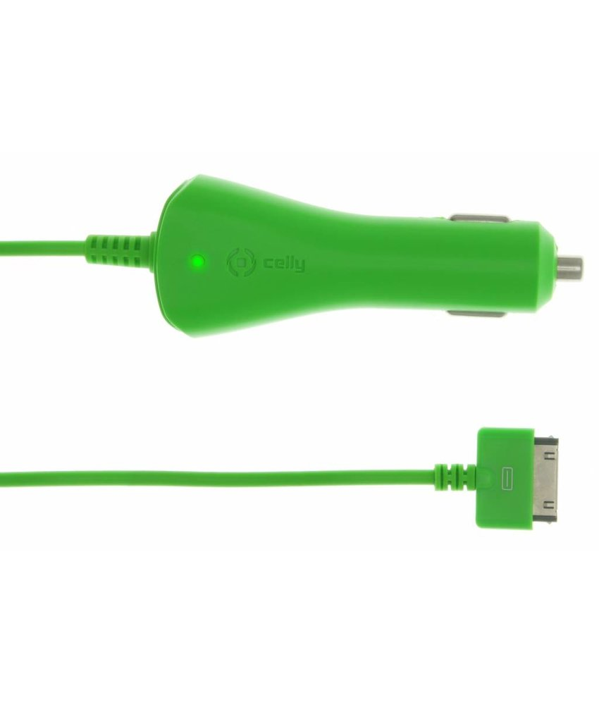 Celly autolader 30-pins 1A - groen