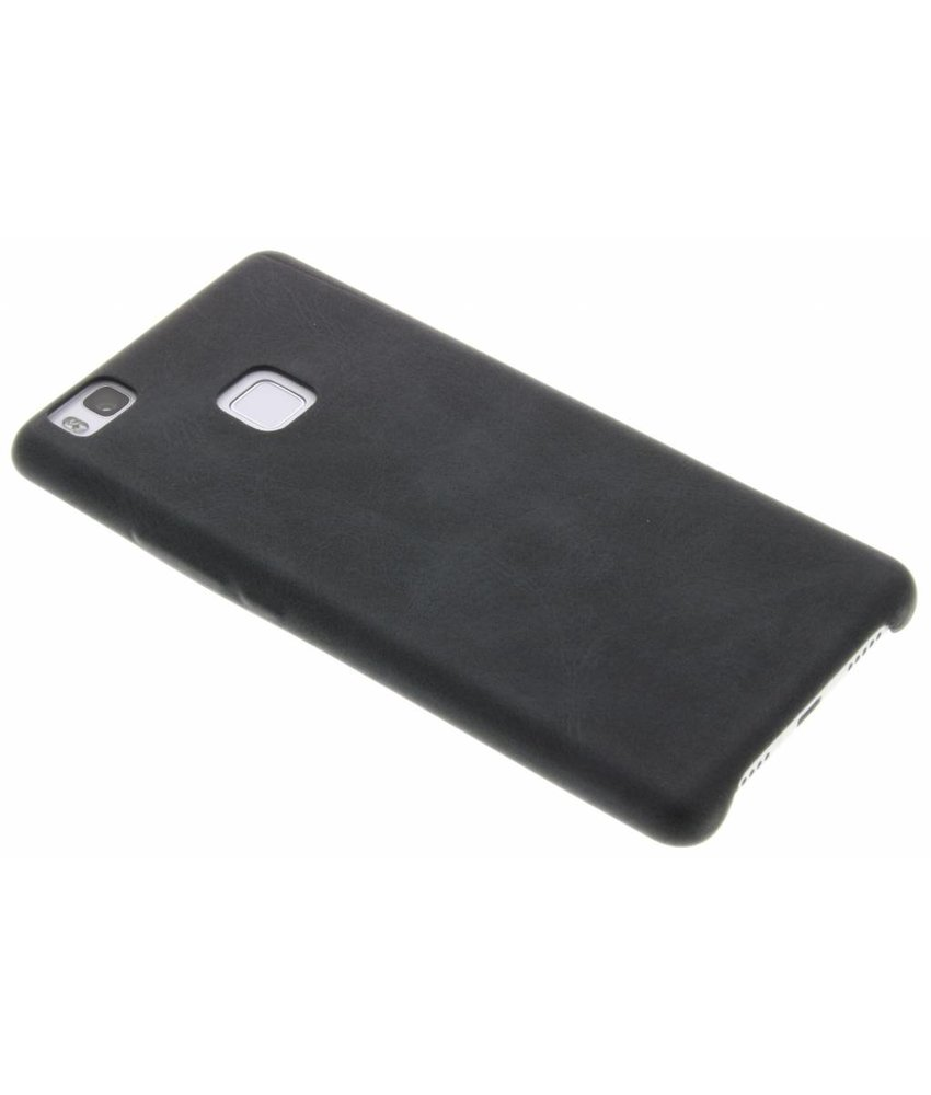 Grijs TPU Leather Case Huawei P9 Lite