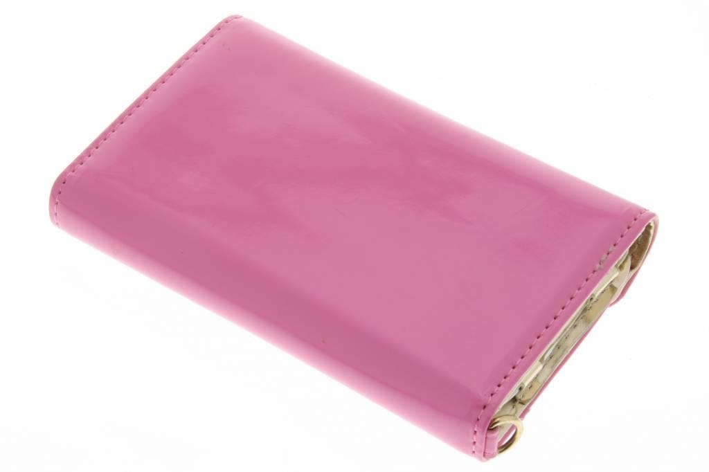 tui Portefeuille Design De Laque De Luxe Rose Pour Samsung Galaxy S3 9ofAhrqM