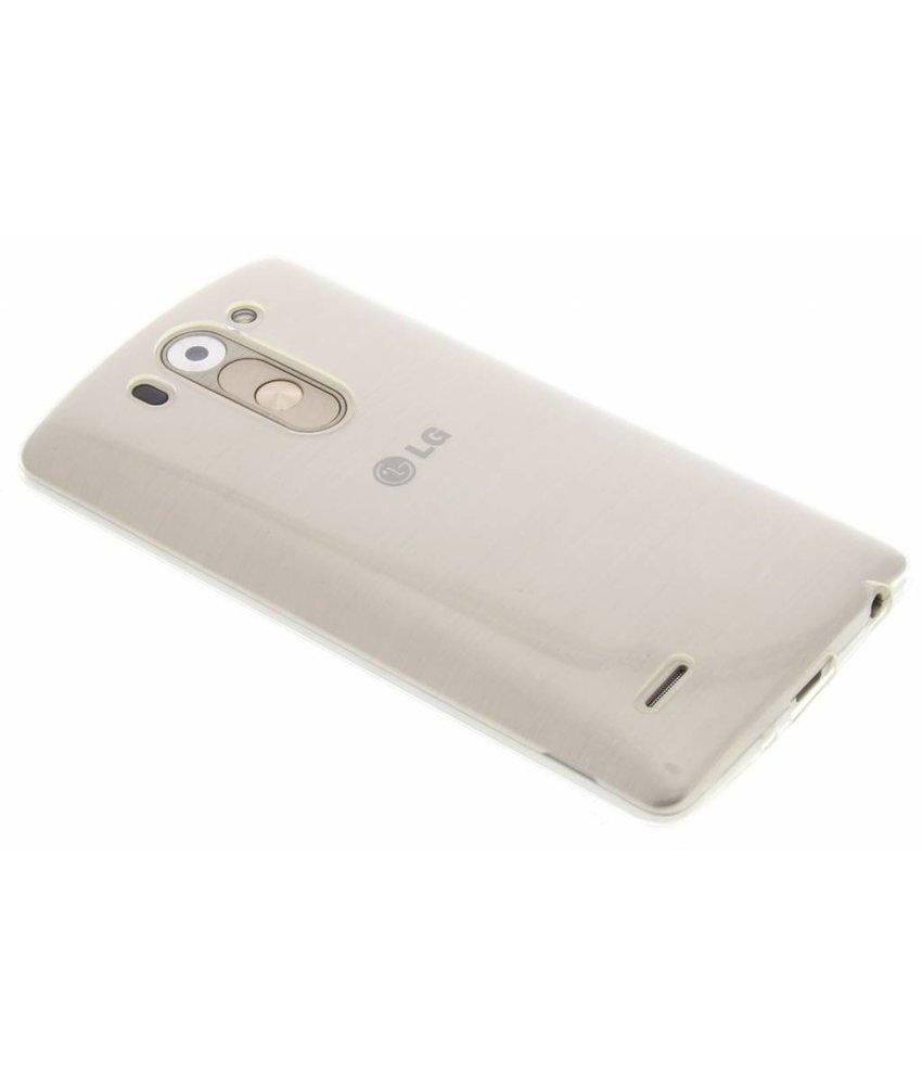 Ultra thin transparant TPU hoesje LG G3 S