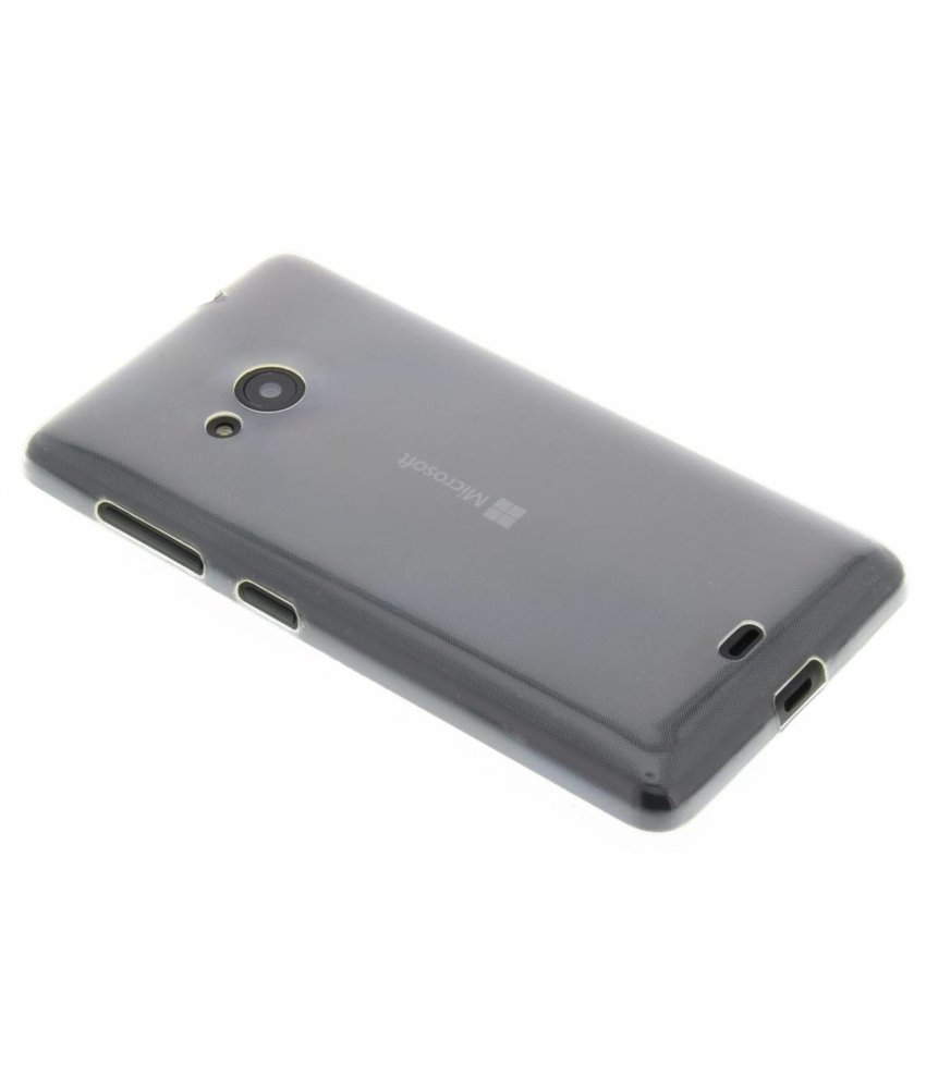 Ultra thin transparant TPU hoesje Microsoft Lumia 535