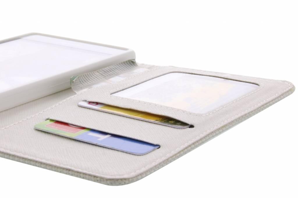 Aspect Lin Blanc Cas Booktype Tpu Pour Microsoft Lumia 535 SvWkzs7Ec