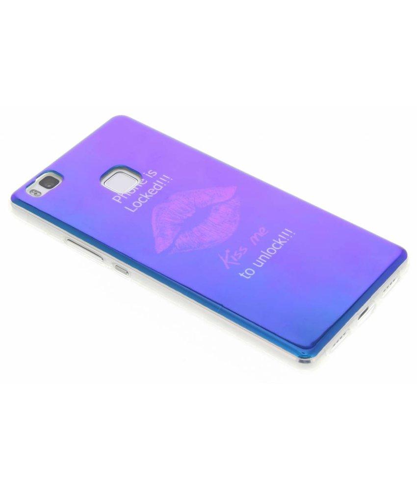 Metallic design TPU hoesje Huawei P9 Lite