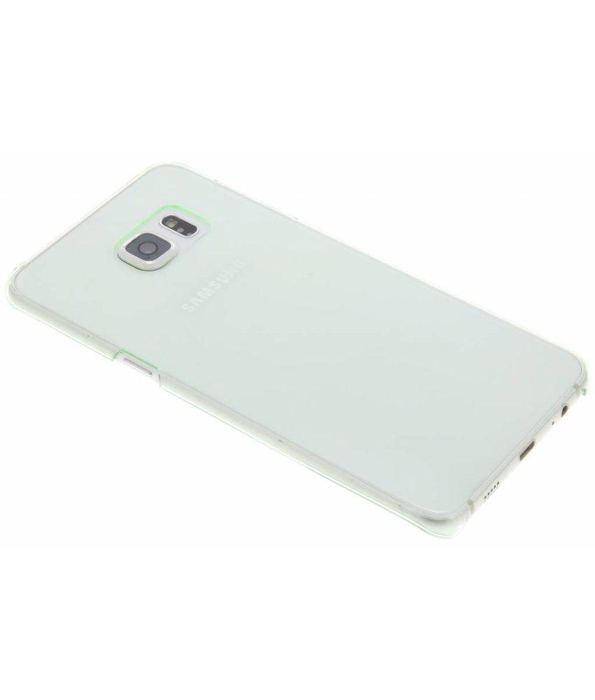 Groen transparante hardcase Samsung Galaxy S6 Edge Plus